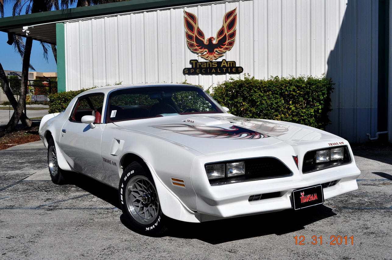 Trans Am 1977 4 Speed
