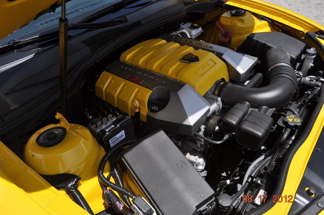 Camaro Ss Bumblebee Edition