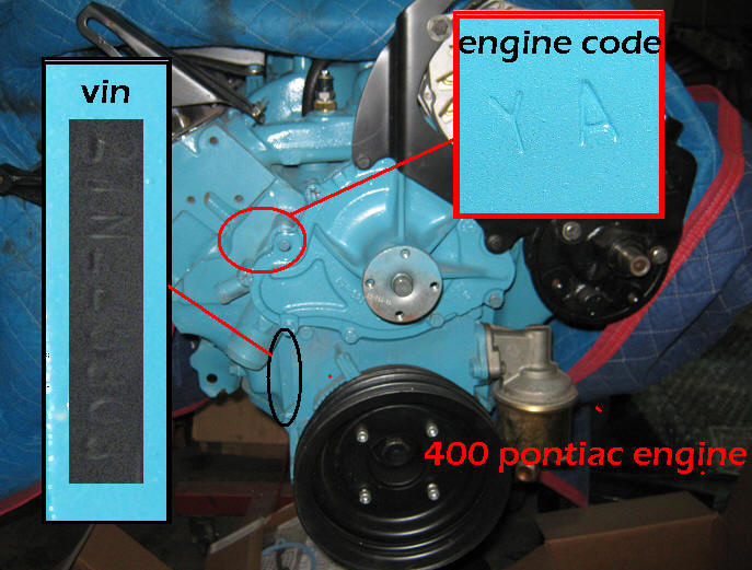 Engine on 350 Chevy Engine Code Numbers