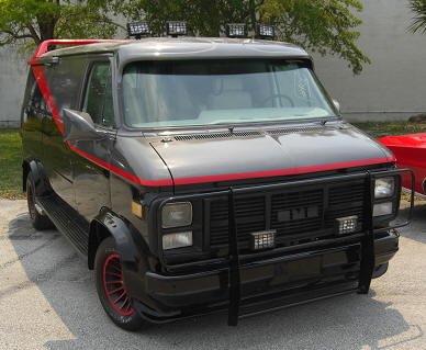 A Team Van For Sale