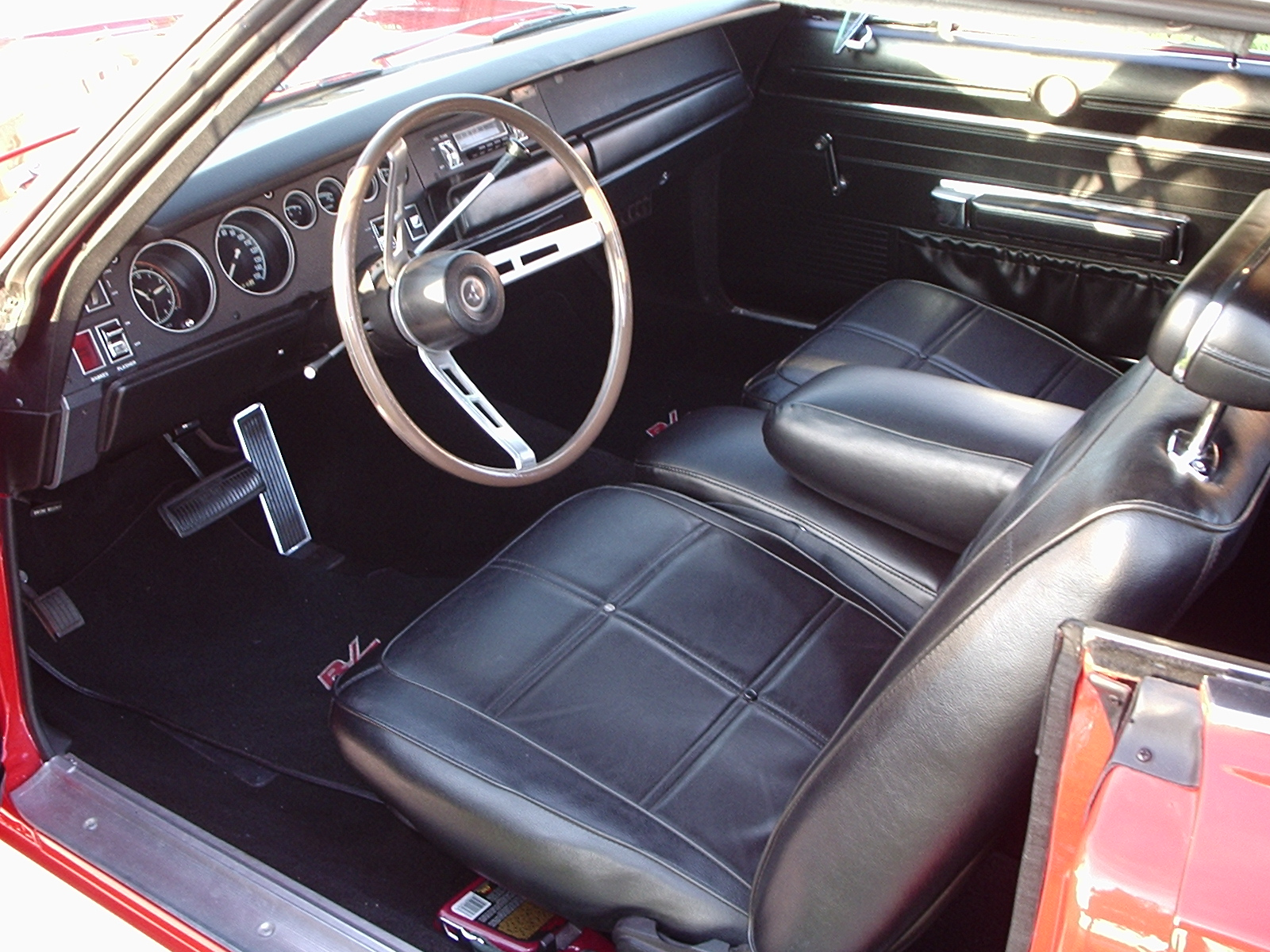 Dodge Charger 1969 Interior