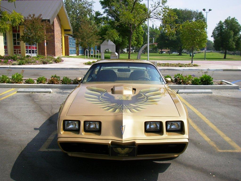 Gold Trans Am 1979