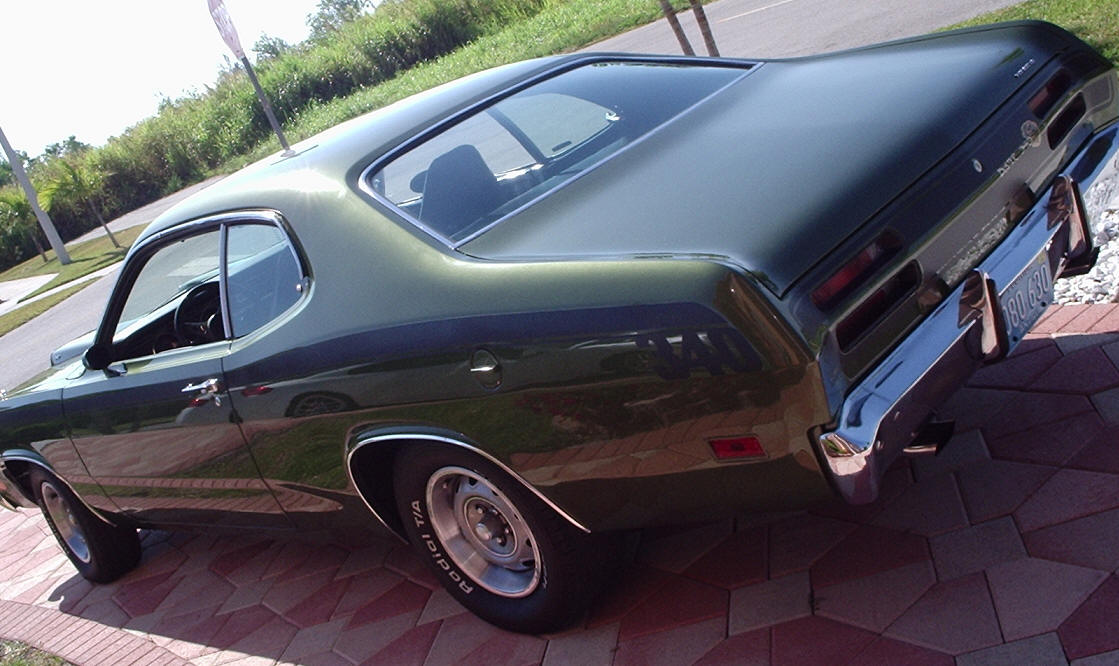 1970 Plymouth Duster 4 Speed