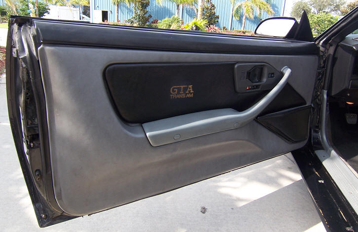 Door panels excellent shape & Trans Am GTA Convertible